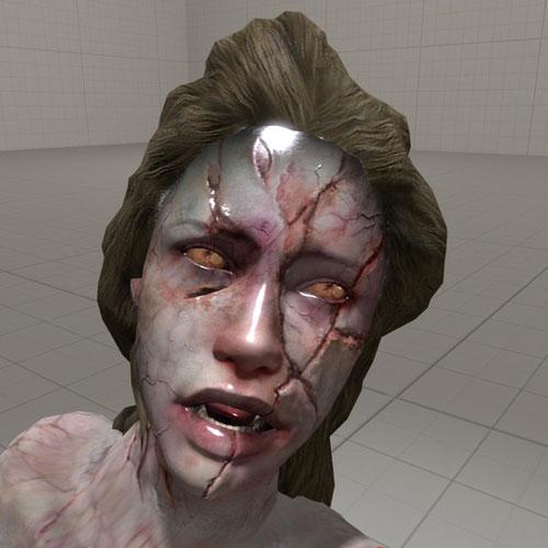 Thumbnail image for Resident Evil - Deborah Harper mutated.