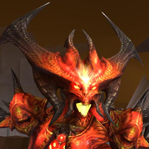 Thumbnail image for Diablo 3 - Diablo from Starcraft 2 mod