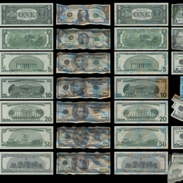 High-Quality US Dollar Bills