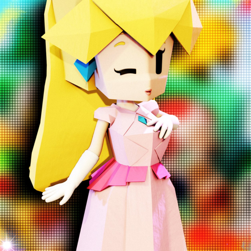 Thumbnail image for Origami Peach (Paper Mario)