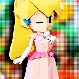 Origami Peach (Paper Mario)