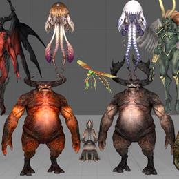 Eorzea Monster Pack (FFXIV)