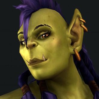 Thumbnail image for World of Warcraft - Female Orc