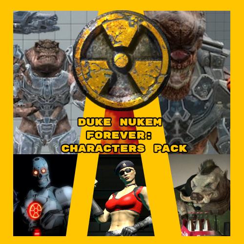 Thumbnail image for Duke Nukem Forever: Characters Pack