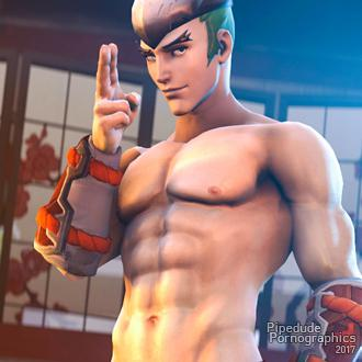 Thumbnail image for [ Overwatch ] Young Genji nude