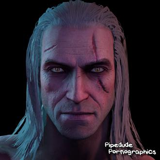 Thumbnail image for [Witcher series] Geralt of Rivia nude