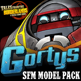 Tales from the Borderlands: Gortys Model Pack