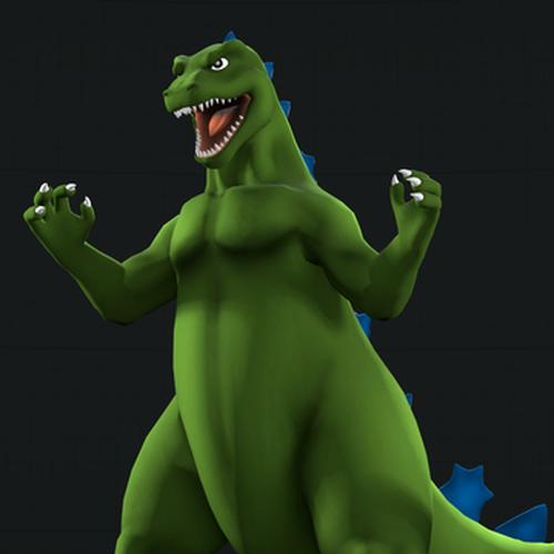 Thumbnail image for Hanna Barbera Godzilla