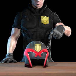 Stealth211's Judge Helmet