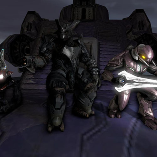 Thumbnail image for Halo 3 Grunt, Brute, and Elite