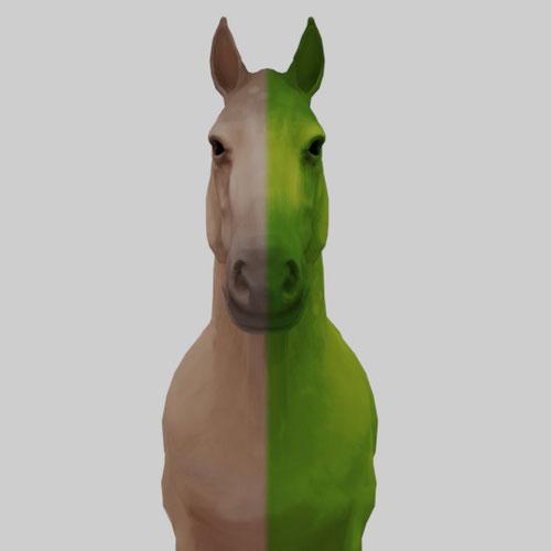 Thumbnail image for Skudd's Horse (Beast boy + Horse Variants)
