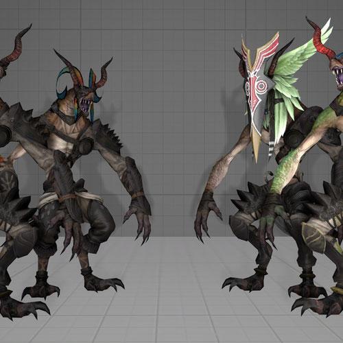 Thumbnail image for Ixali Beastmen (FFXIV)