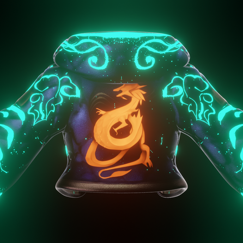 Thumbnail image for Hoodie Shader for Akali by Gifdoozer (with glowing patterns)