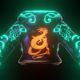 Hoodie Shader for Akali by Gifdoozer (with glowing patterns)