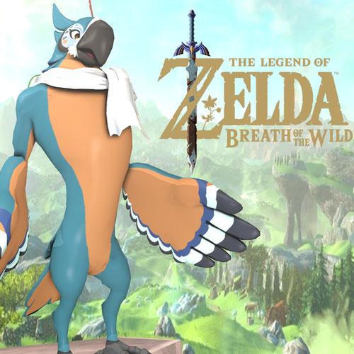 Thumbnail image for Zelda BOTW - Kass nude