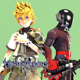 Kingdom Hearts 3 Ventus and Vanitas Pack