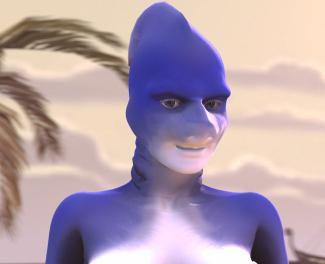 Thumbnail image for Krystal Blade - An anthro shark-girl