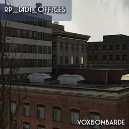 [Map] RP_L4D1_offices