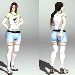 Laer Outfit Honoka Casual