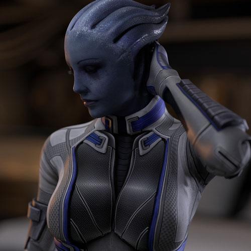 Thumbnail image for Mass Effect | Liara T'Soni