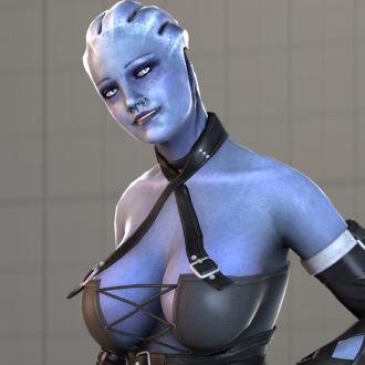 Thumbnail image for Dominatrix Liara T'Soni (Fantasy Body)