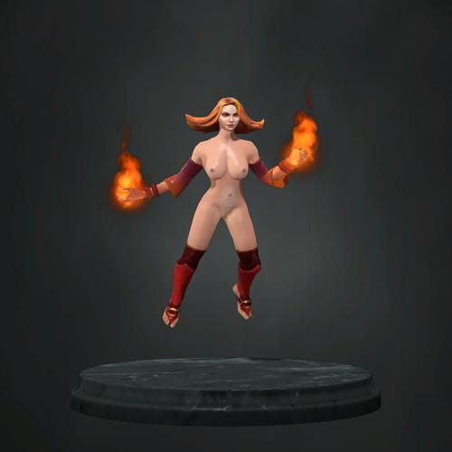 Thumbnail image for Lina Topless Mod
