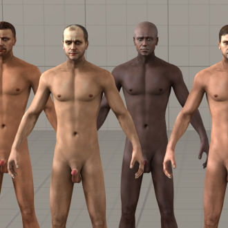 Thumbnail image for Generic Nude Male v1.1