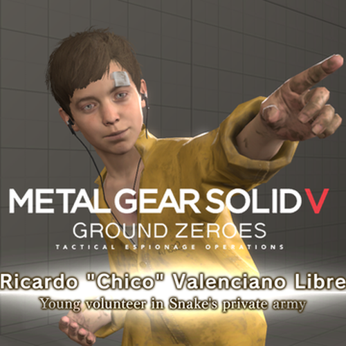 Thumbnail image for Metal Gear Solid 5 GZ - Chico