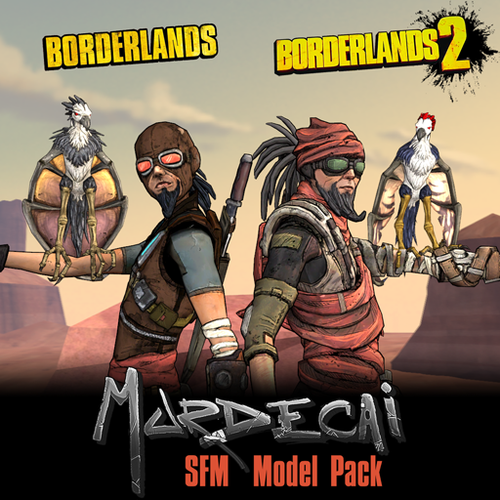 Thumbnail image for Borderlands: Mordecai (Models + Prop Pack)
