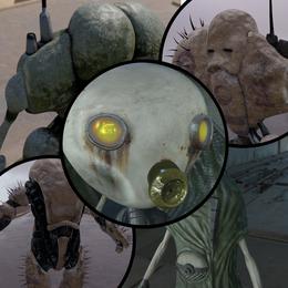 Half-Life 2 Beta inspired Combine Units Pack