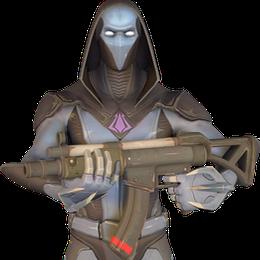 [Fortnite] Sub Machine Gun Model (No Suppressor)