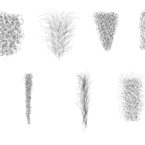 Thumbnail image for Pubic hair selection for artists