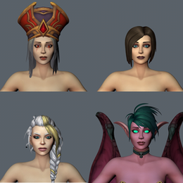 [Warcraft] Nibeya OC Pack