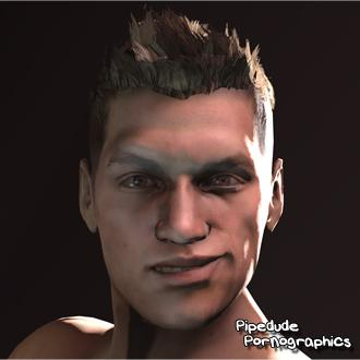 Thumbnail image for [RE6] Piers Nivans Nude (version 2)