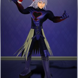 Kingdom Hearts 3 - Replica Riku + Soul Eater weapon