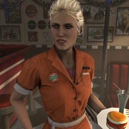 Waitress (Batman Arkham Knight)