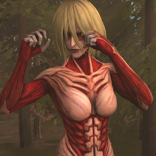 Thumbnail image for Female Titan (Attack on Titan)