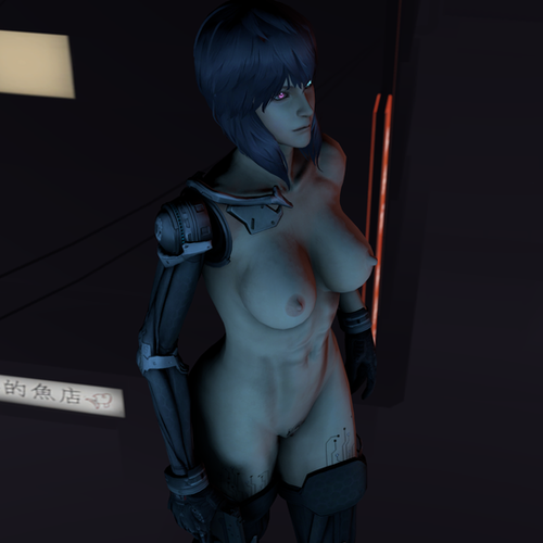 Thumbnail image for Motoko Nude Cyberized