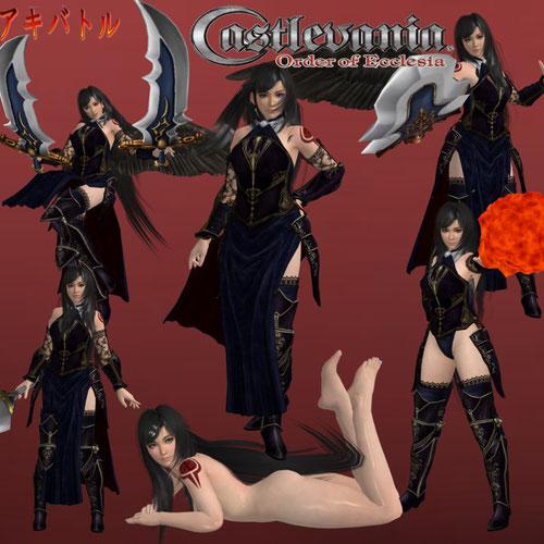 Thumbnail image for Shanoa (Castlevania Order of Ecclesia)