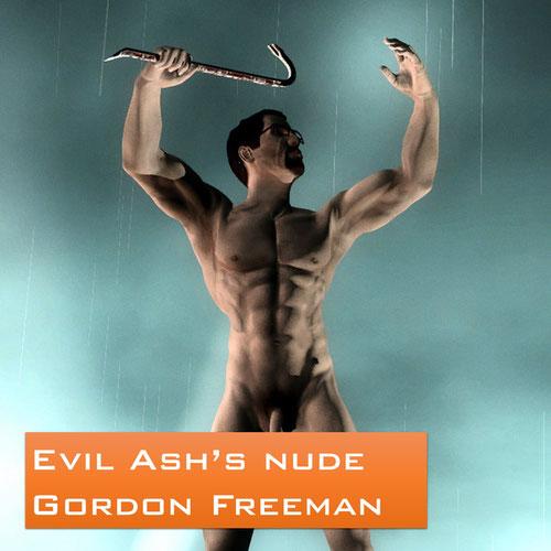 Thumbnail image for Evil Ash's nude Gordon Freeman