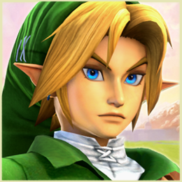 OoT Link - Hyrule Warriors/Project M