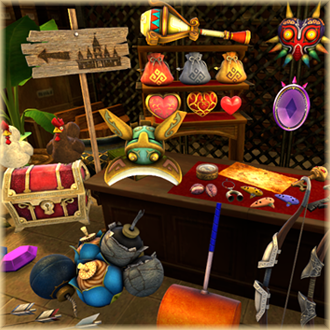 Thumbnail image for Prop Pack 2.0 - Hyrule Warriors