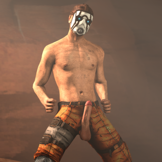 Thumbnail image for Nude Borderlands 2 Psycho