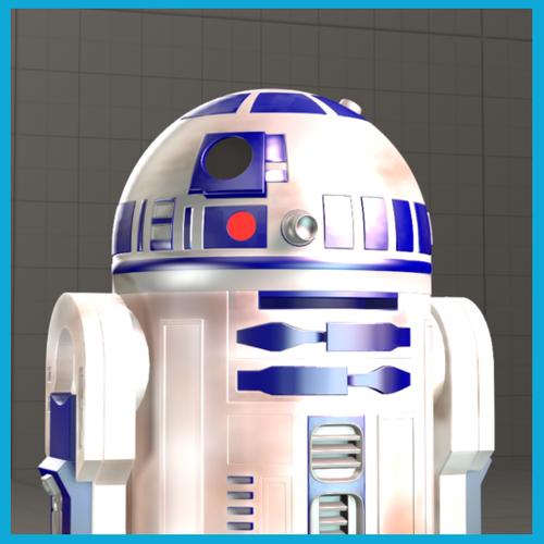 Thumbnail image for Star Wars Enhanced R2-D2 Astromech Droid
