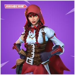 [FORTNITE] Red Riding Set