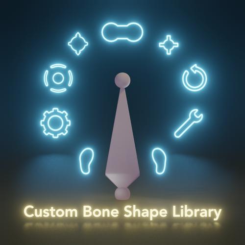 Thumbnail image for Custom Bone Shape Library (NSFW)