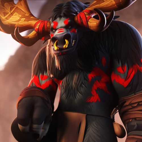 Thumbnail image for [WoW] Rodann - Highmountain Tauren Male
