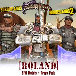 Borderlands: Roland (Models + Prop Pack)