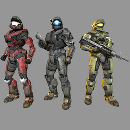 Halo: Reach - Spartans