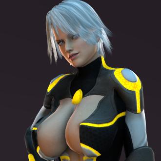 Thumbnail image for Sci-fi Assassin Christie [DOA Fantasy]